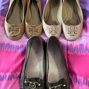 Tory burch and michael kors used shoes